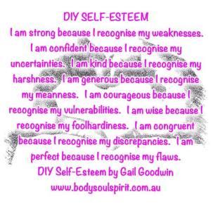 diy self self esteem by gail goodwin