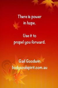 the power of hope by gail goodwin